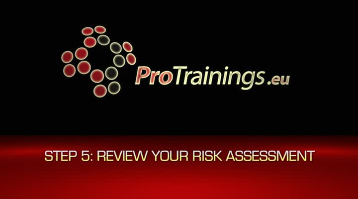 5. Review your assessment and update if necessary