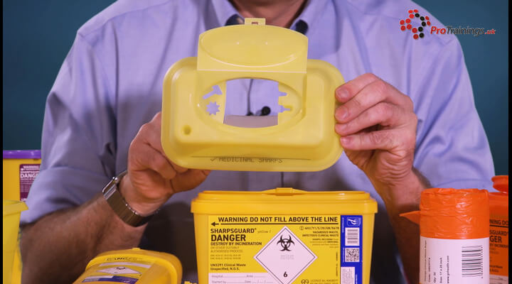 Hazardous Sharps Disposal Procedures