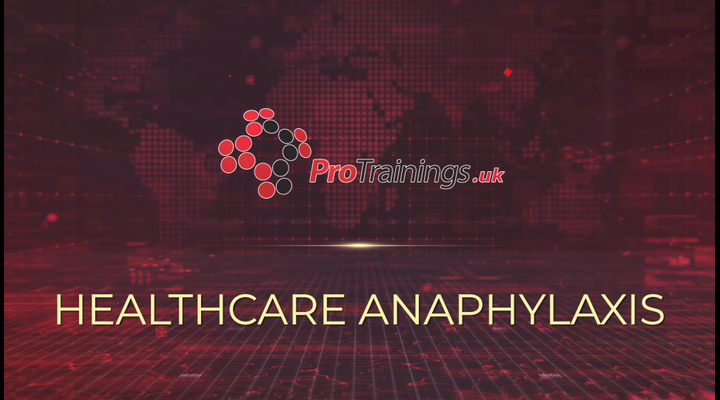 Introduction to Healthcare Professional Anaphylaxis