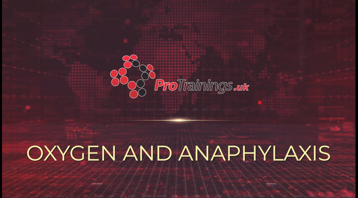 Oxygen and Anaphylaxis