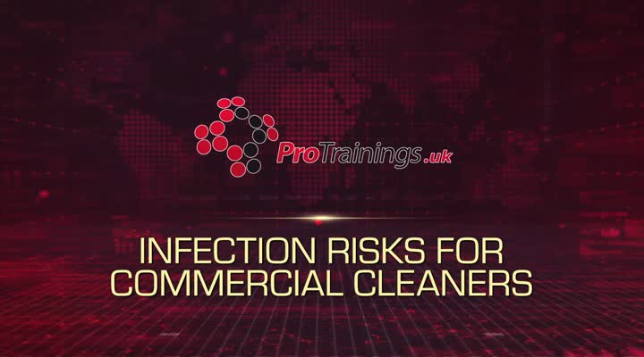 Infection Risks for Commercial Cleaners