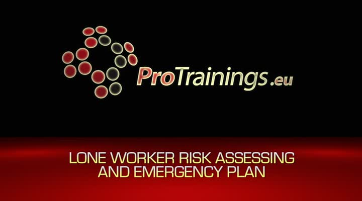 Lone Worker Emergency Plan and Risk Assessment