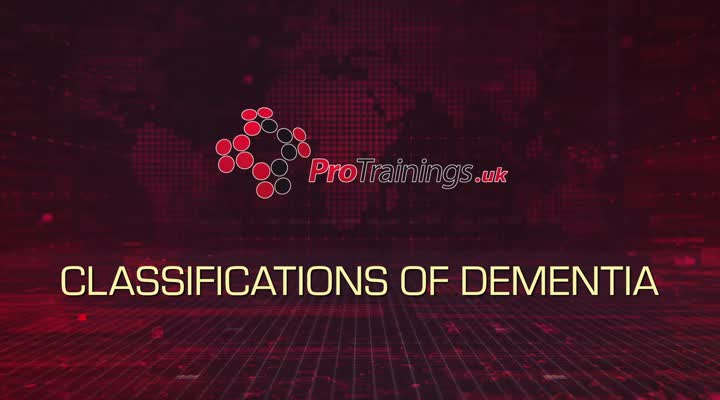 Classifications of Dementia