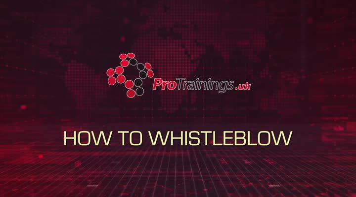 How to Whistleblow