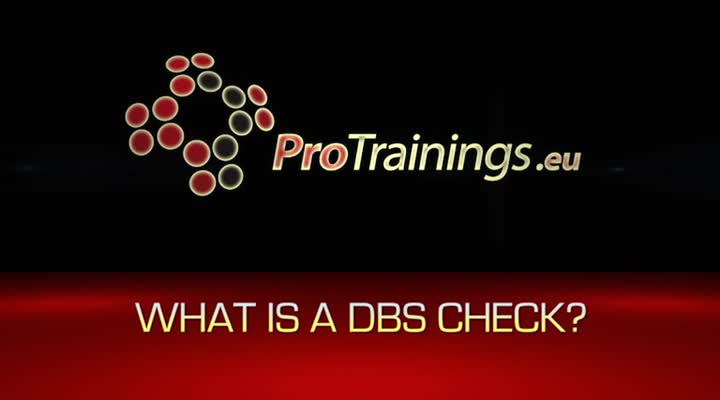 What is a DBS check
