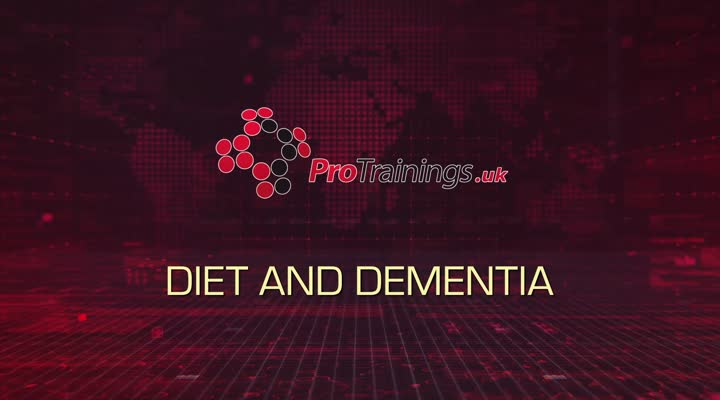 Diet, meals and Dementia