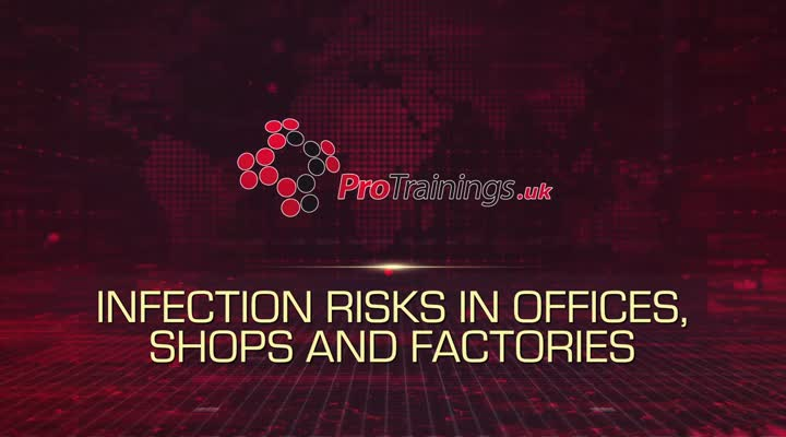 Infection Risks In Offices, Shops and Factories