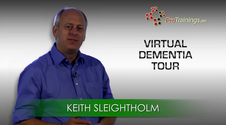 Welcome to the Virtual Dementia Tour® (optional)