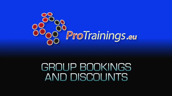 Group bookings and discounts (optional)