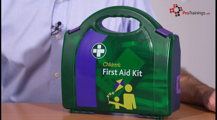 Paediatric First Aid Kits