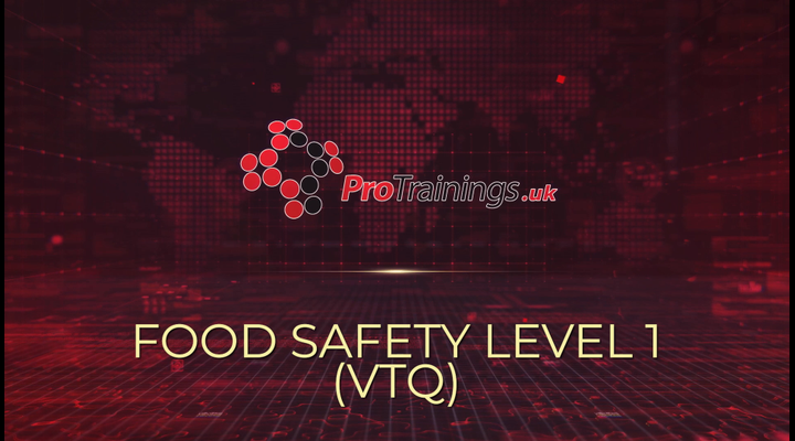 Introduction to Food Safety level 1