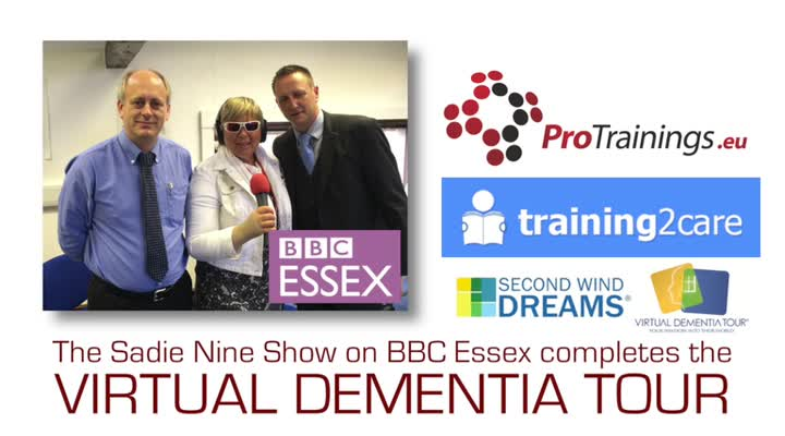 VDT on BBC Essex Sadie Nine Show 2014 (optional)