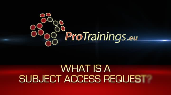 What is a subject access request?