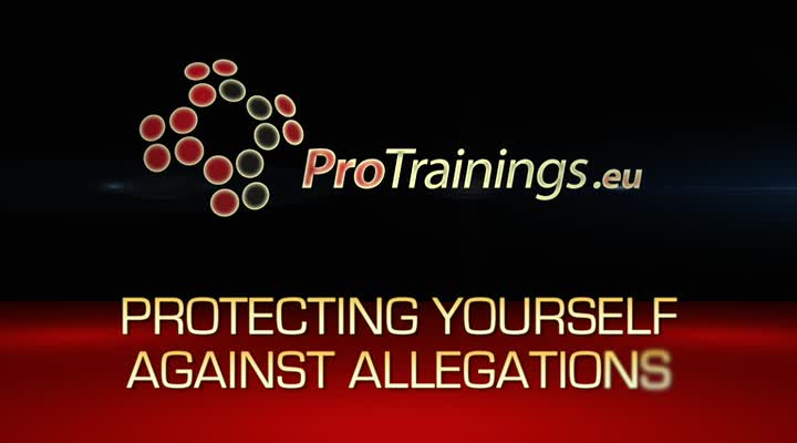 Protecting yourself against allegations