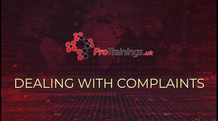 Principle 5 - Dealing with complaints