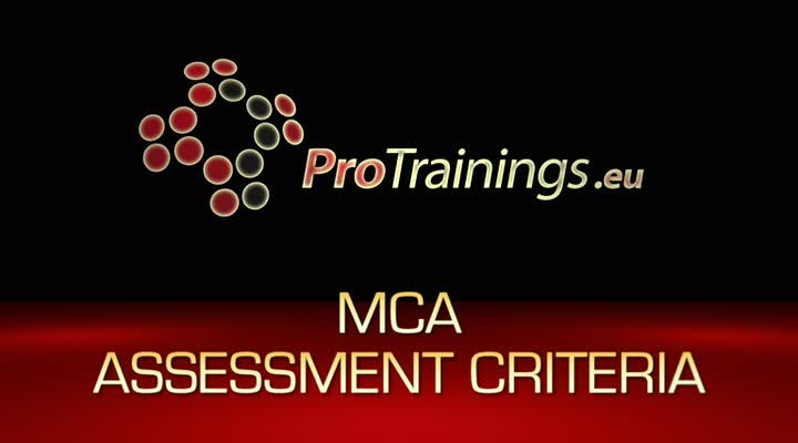 MCA Assessment Criteria