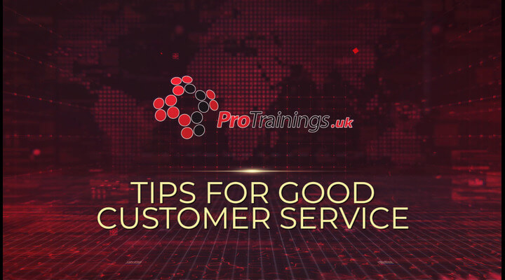 Tips to good customer service