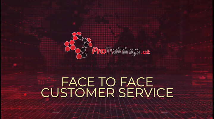 Face to face customer service
