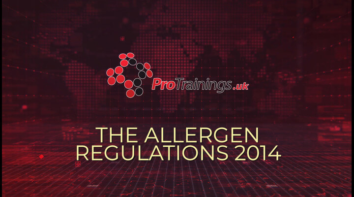The Allergen Regulations 2014