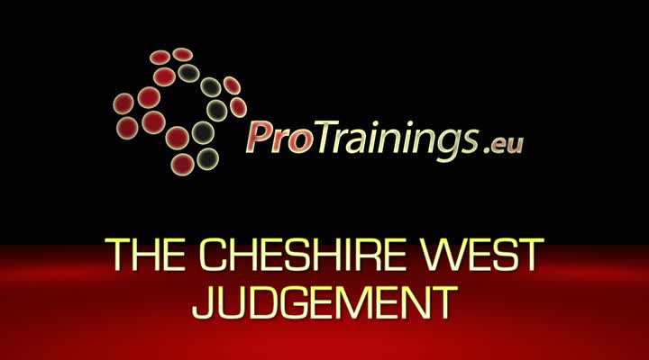 Cheshire West Judgement