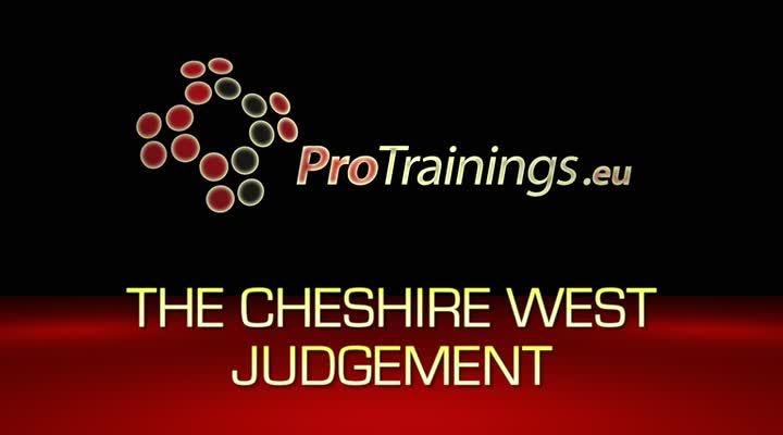 Cheshire West Judgement