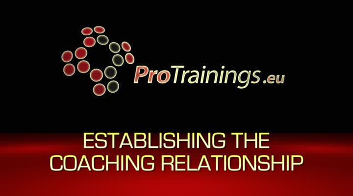 Establishing the coaching relationship