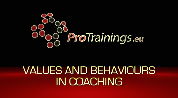 Values and behaviours in Coaching