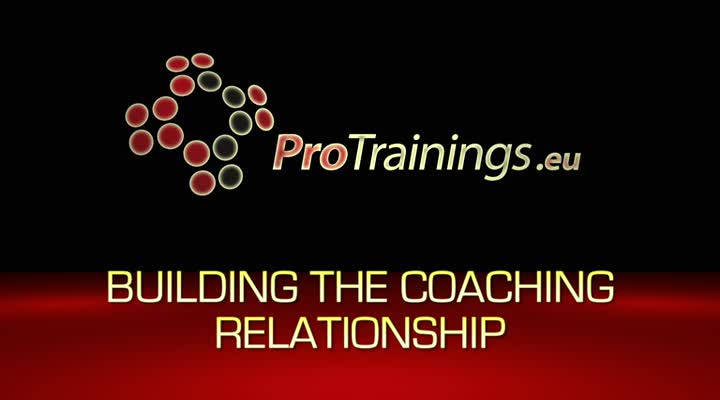 Building the coaching relationship