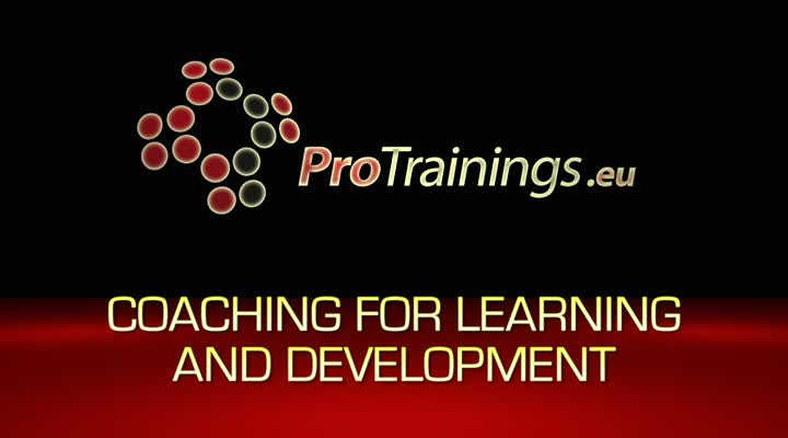Coaching for learning and development
