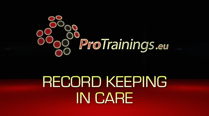 Record keeping in care