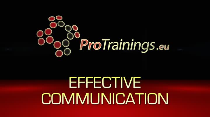 Effective communication in the work setting