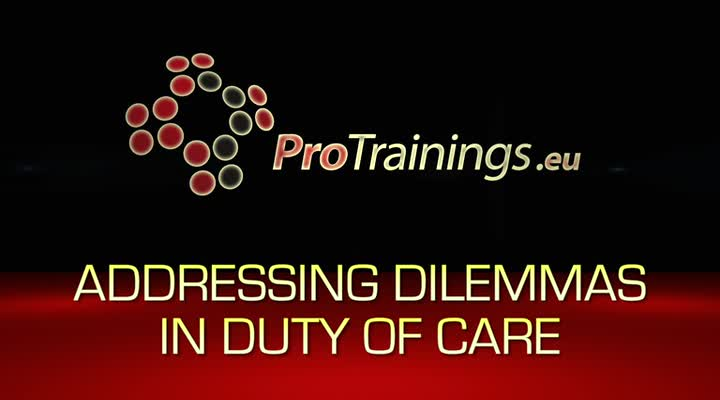 Addressing dilemmas within your duty of care