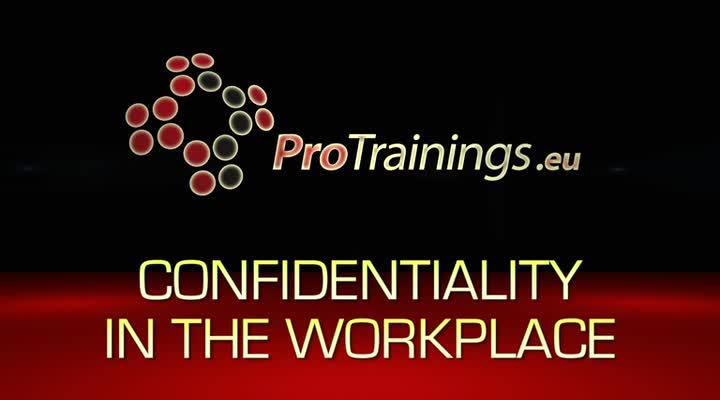 Confidentially in the workplace