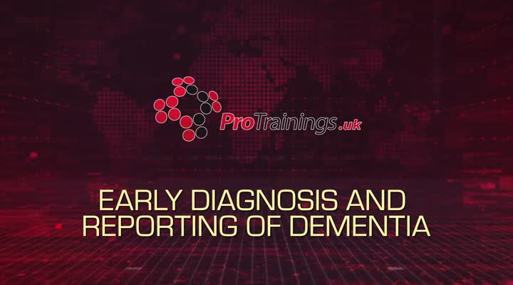 Early diagnosis of Dementia and reporting