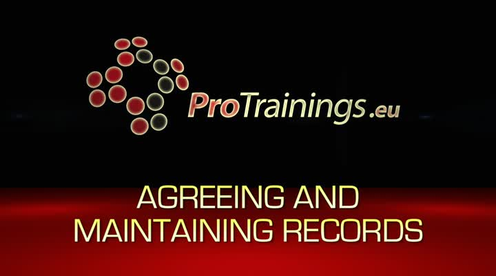 Agreeing and maintaining records