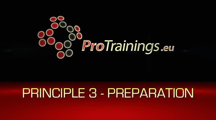 Principle 3 Preparation