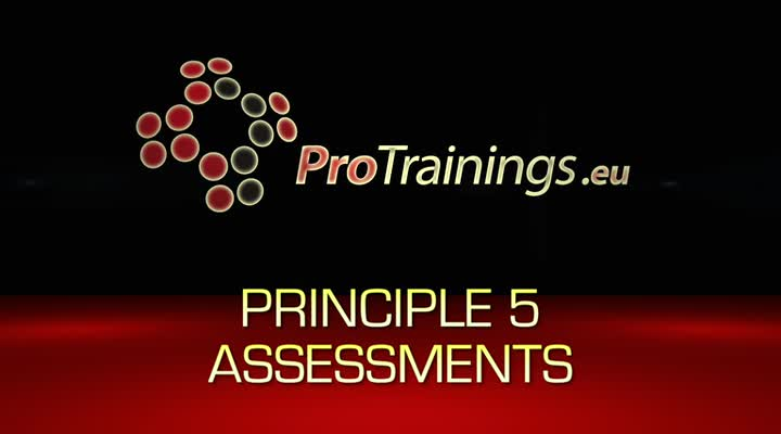Principle 5 Assessments