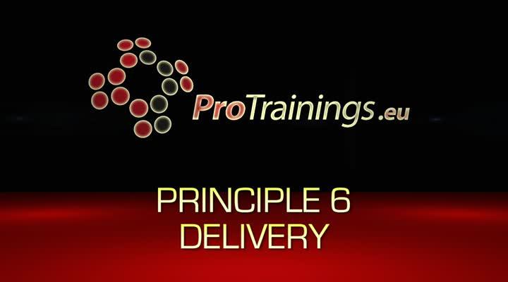 Principle 6 Delivery