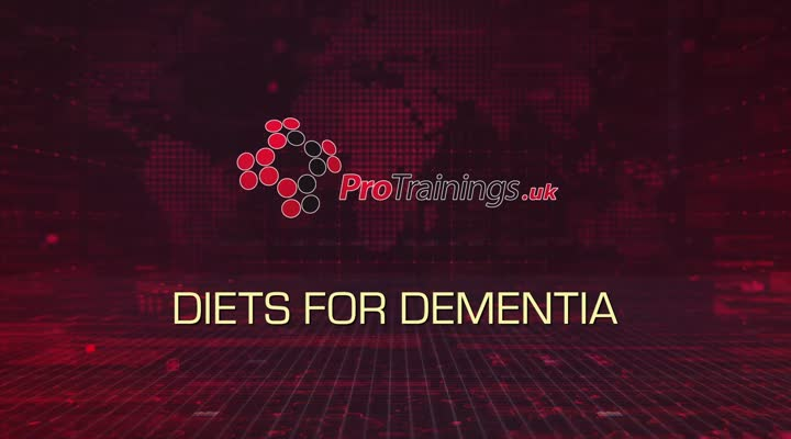 Diets for people with dementia