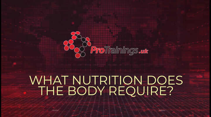 What nutrition does the body require