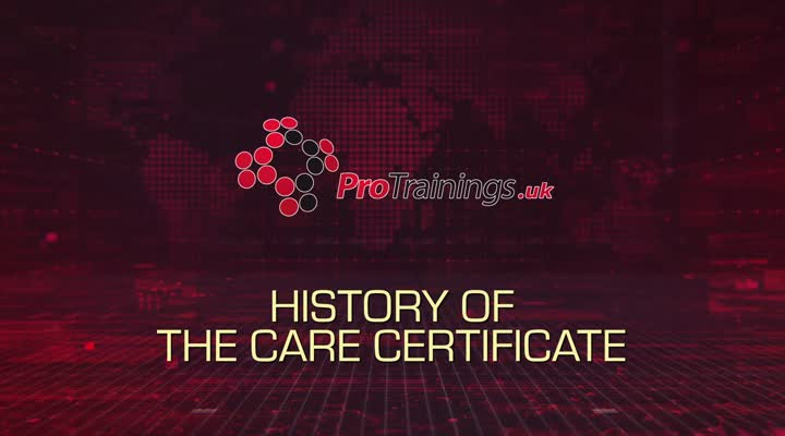 History of the care certificate