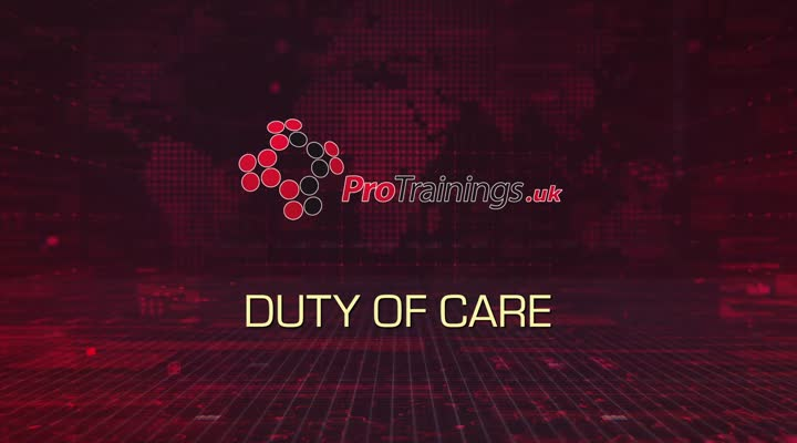 Introduction to the Duty of Care Standard