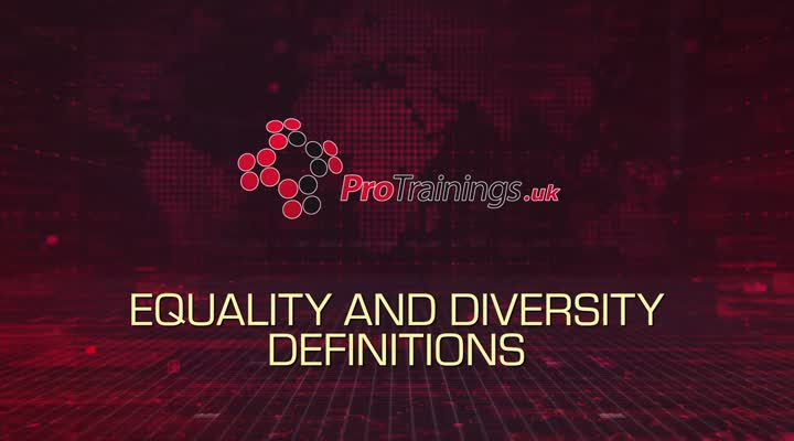 Introduction to the standard on Equality and Diversity