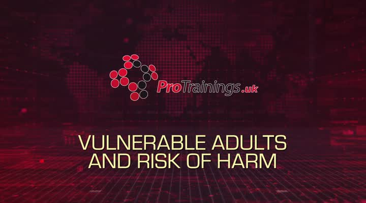 Vulnerable adults and the risk of harm