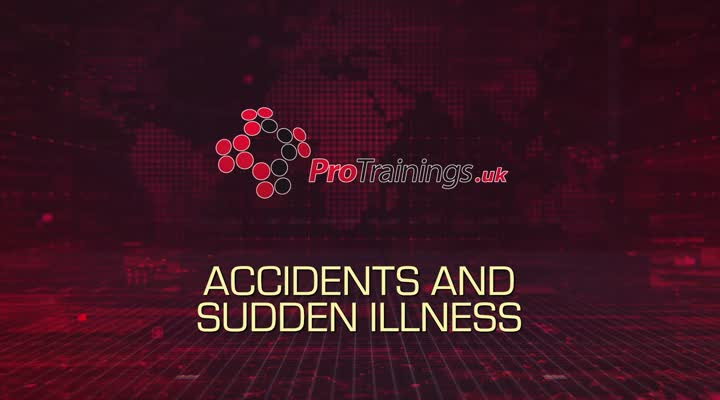 Accidents and sudden illness