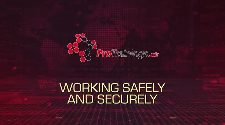 Working safely and securely