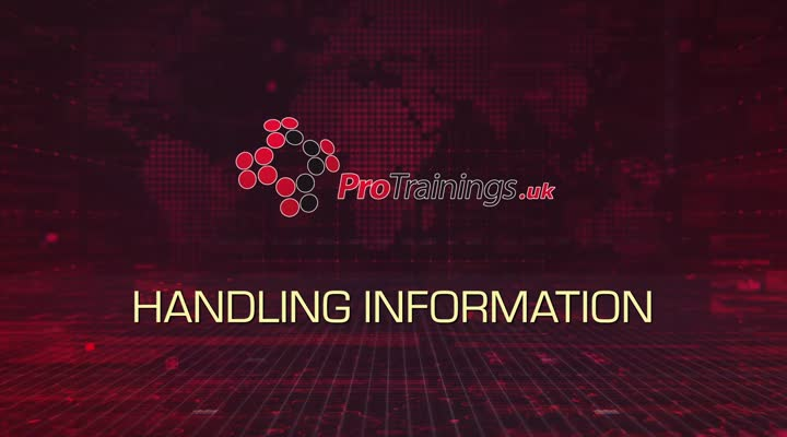 Handling information standard Introduction