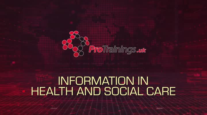 Handling information in health and social care
