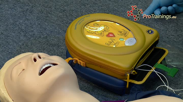 AED demo HeartSine 350