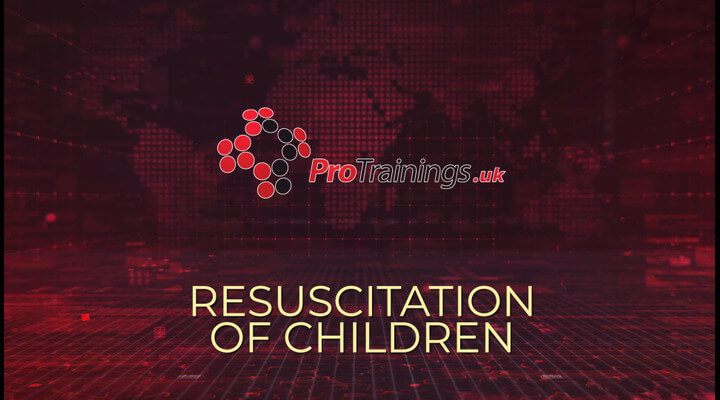 Resuscitation of children